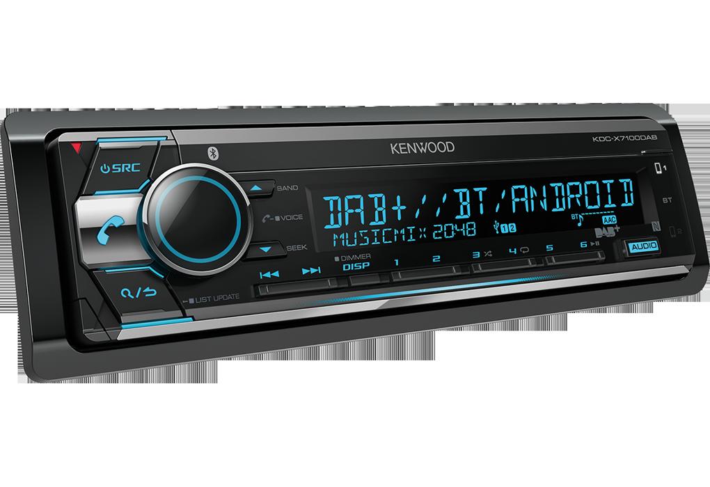KDC-X7100 DAB
