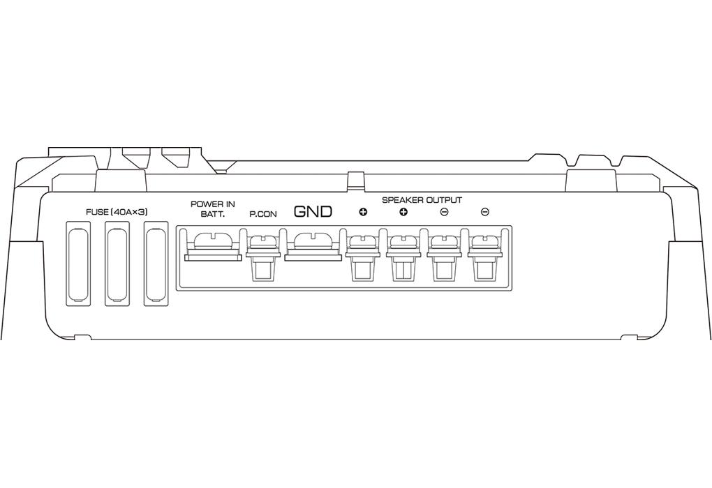 KAC-9106 D Control Panel