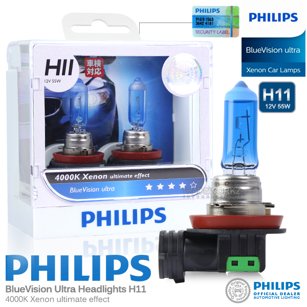 Philips BlueVision Ultra H11